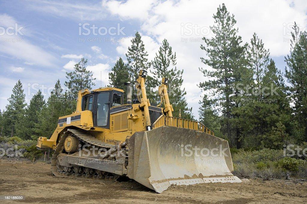 Large Bulldozer royalty-free stock photo
