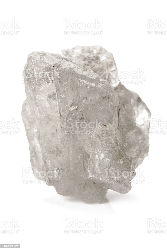 large calcite crystal stock photo
