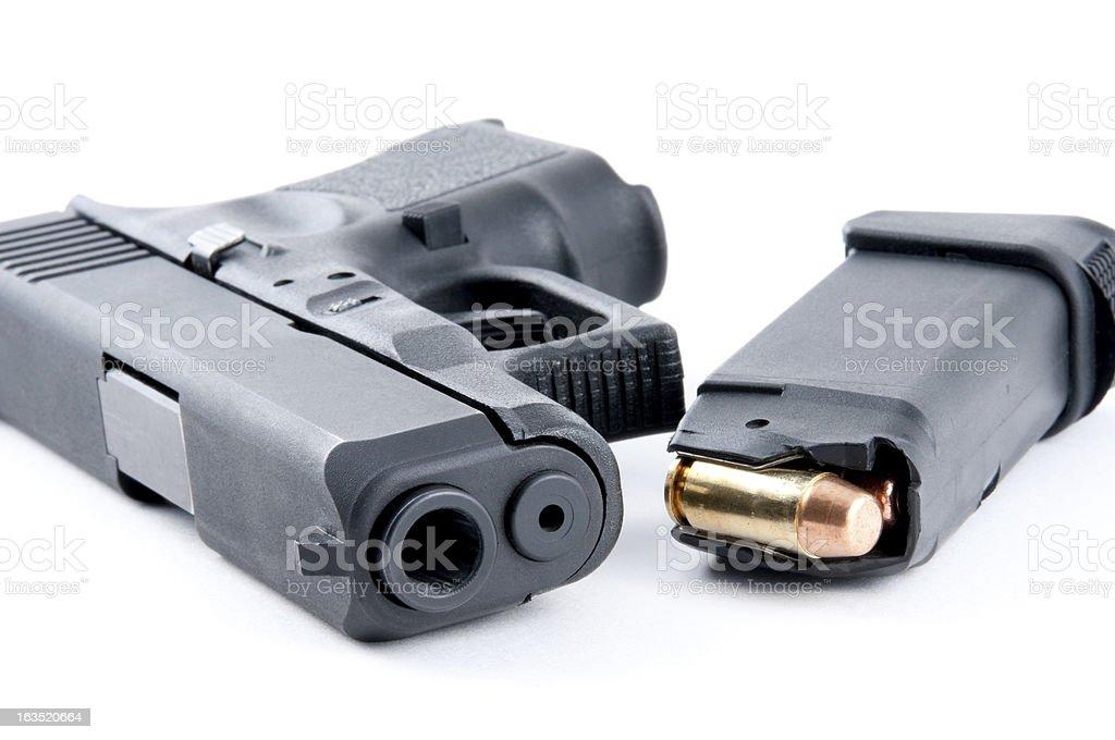 Large Caliber Handgun stock photo