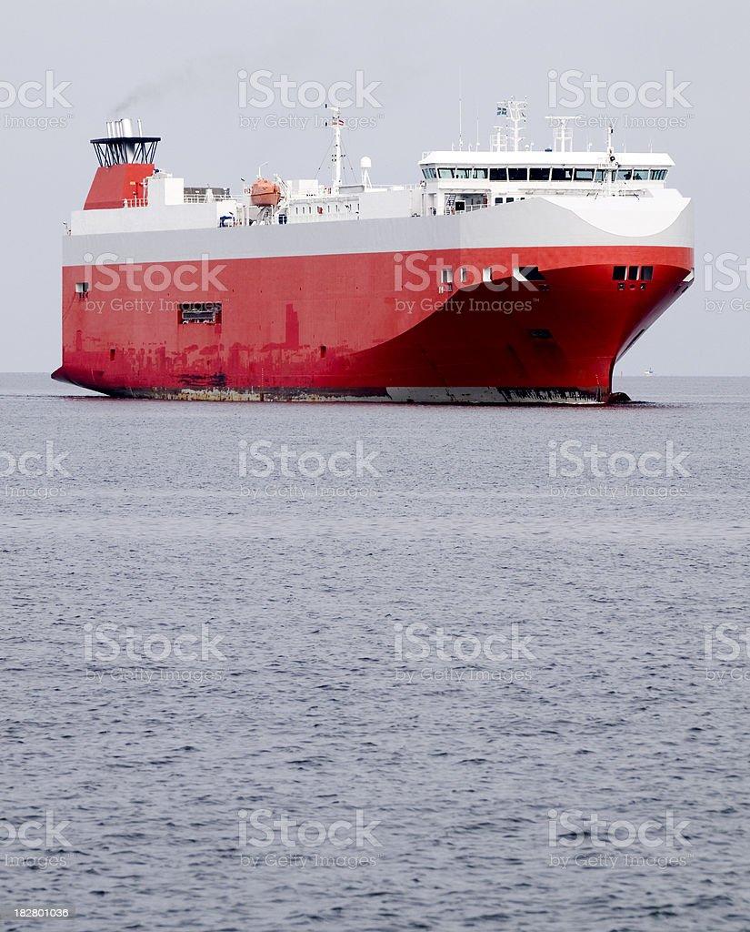Large cargo ship royalty-free stock photo