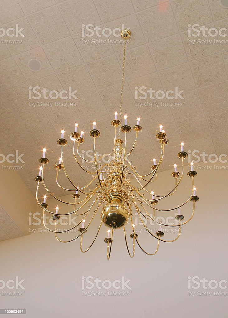 Large Chandelier 2 royalty-free stock photo
