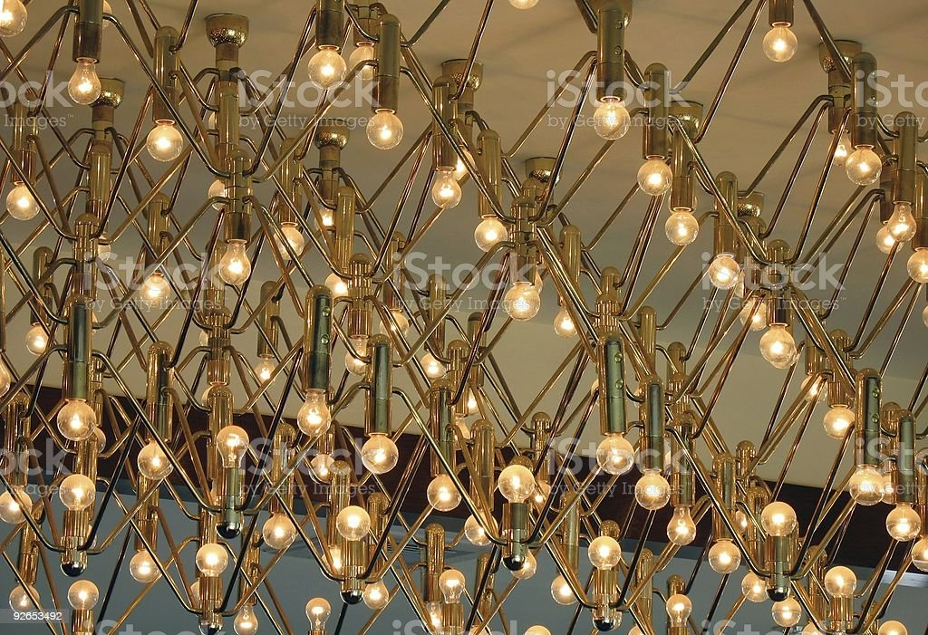 Large Chandelier royalty-free stock photo