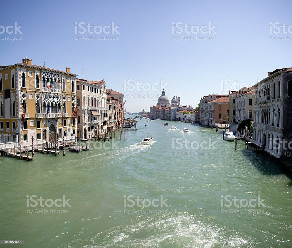 canale grande in veneto royalty-free stock photo