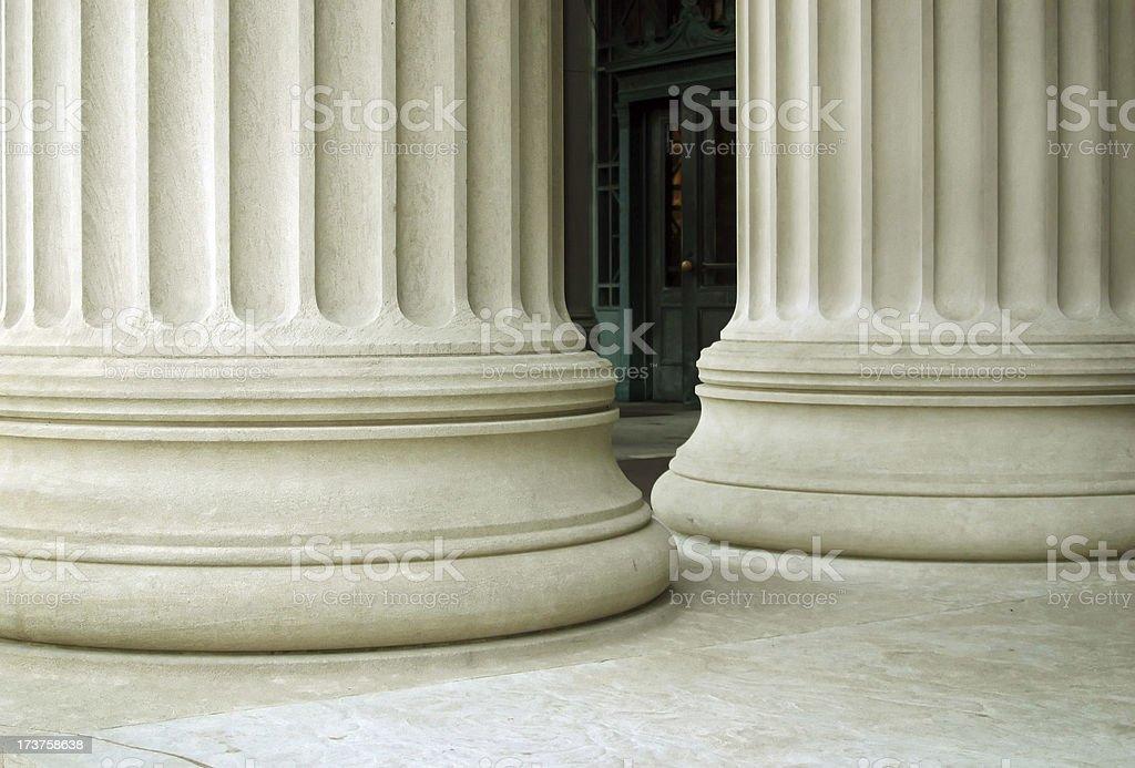 Large Columns stock photo