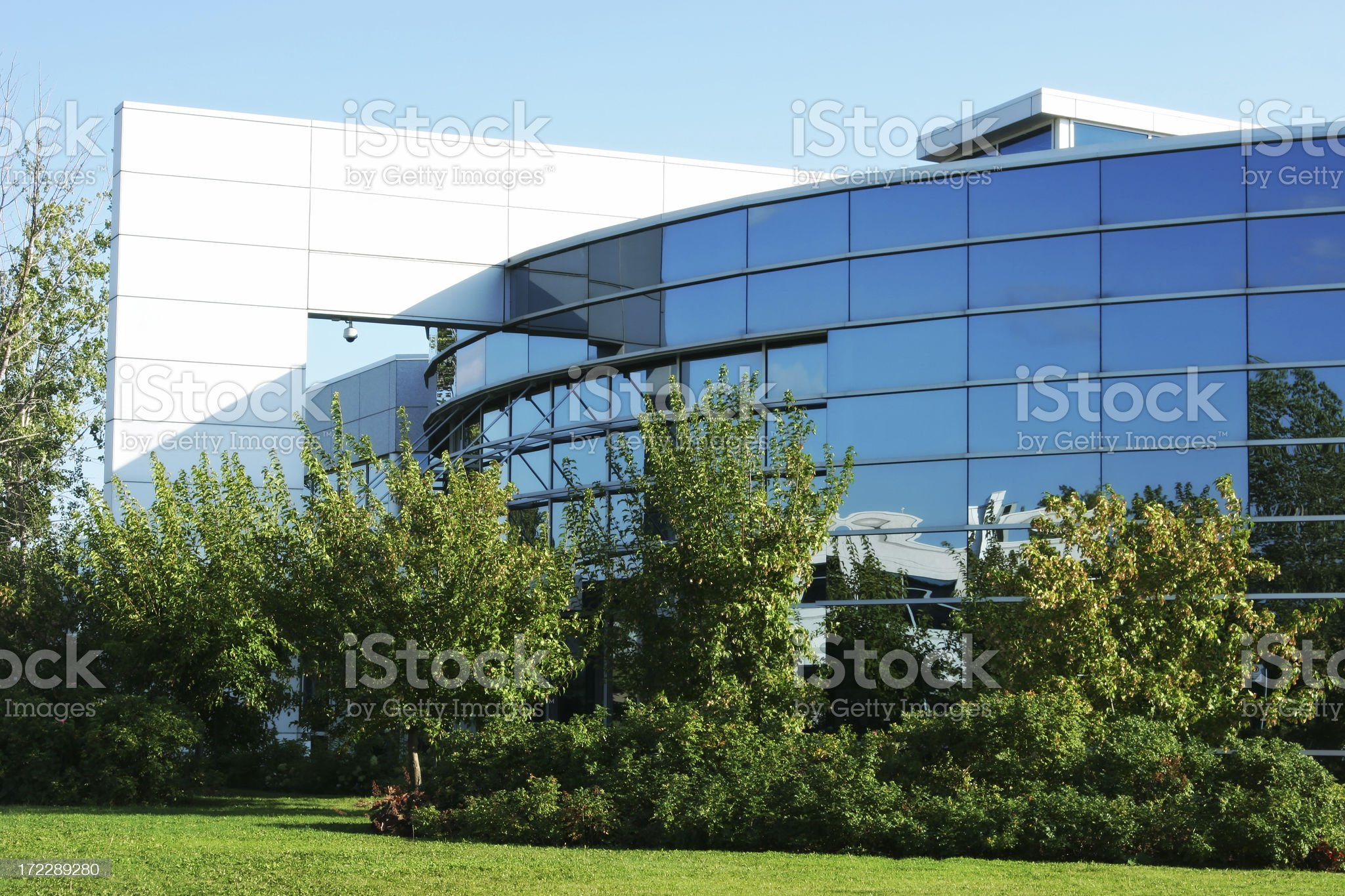 Large Corporate Industry Building royalty-free stock photo