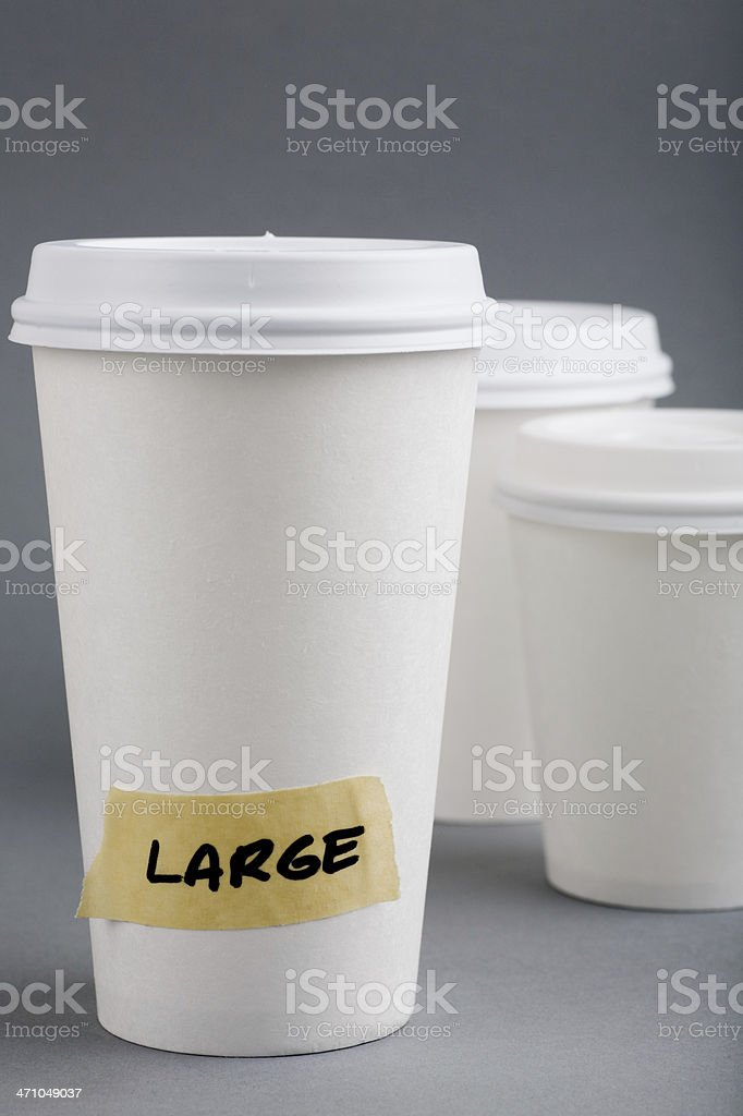 Large cup royalty-free stock photo