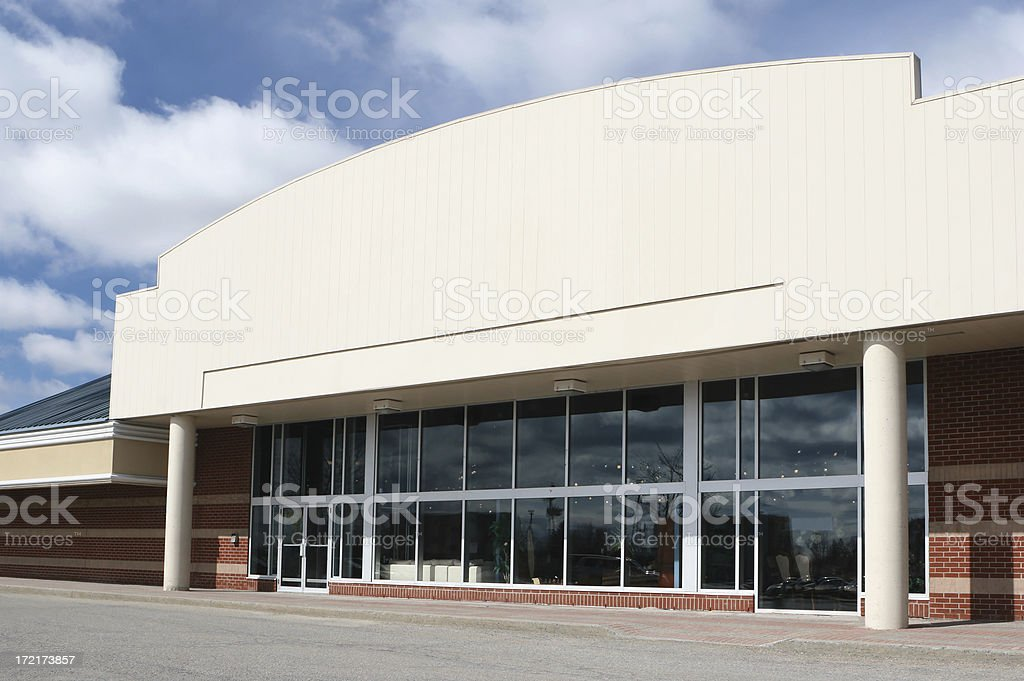Large Department Store Building stock photo