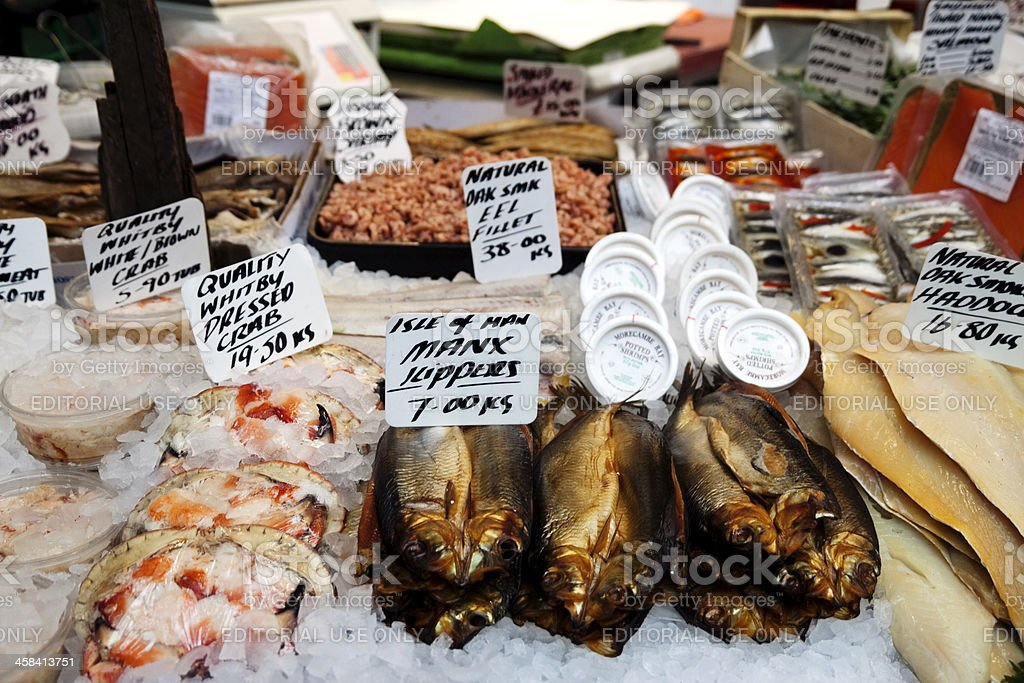 Large display of fish royalty-free stock photo