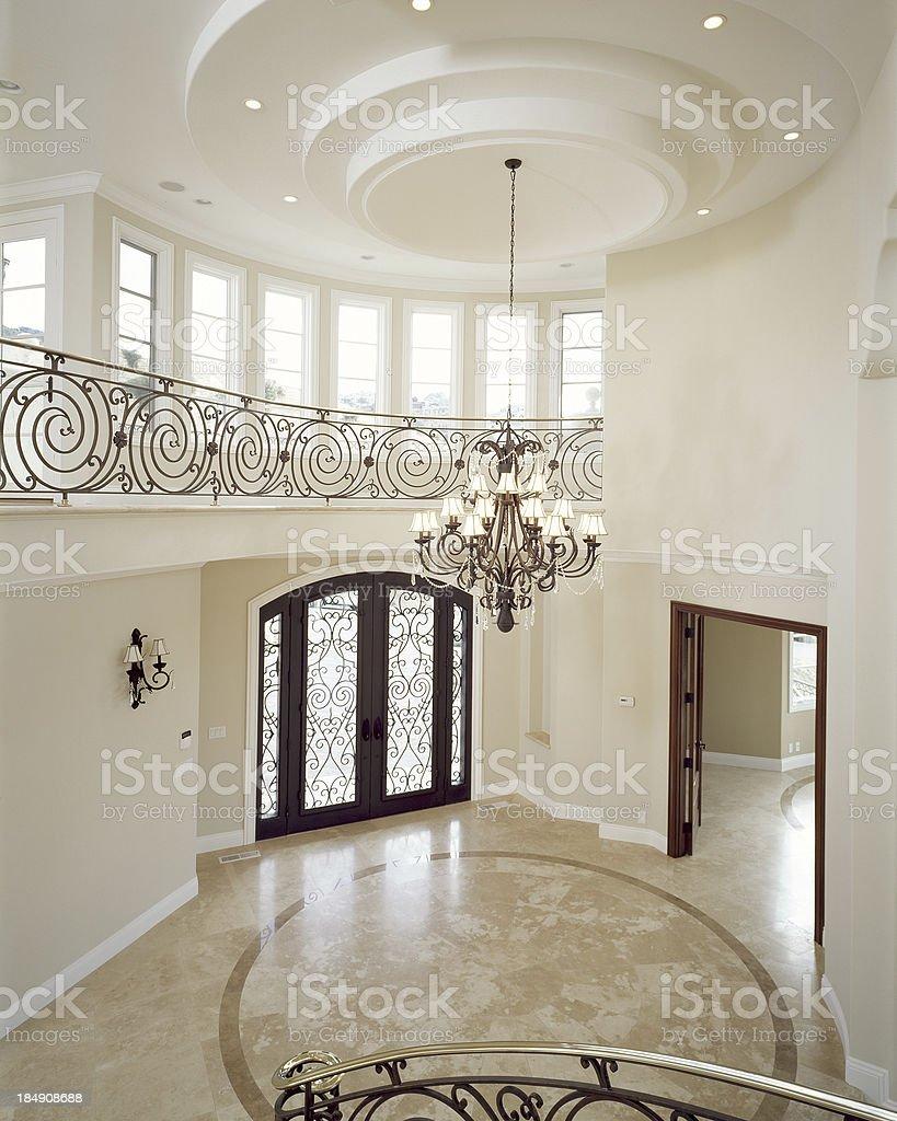 Large Foyer royalty-free stock photo
