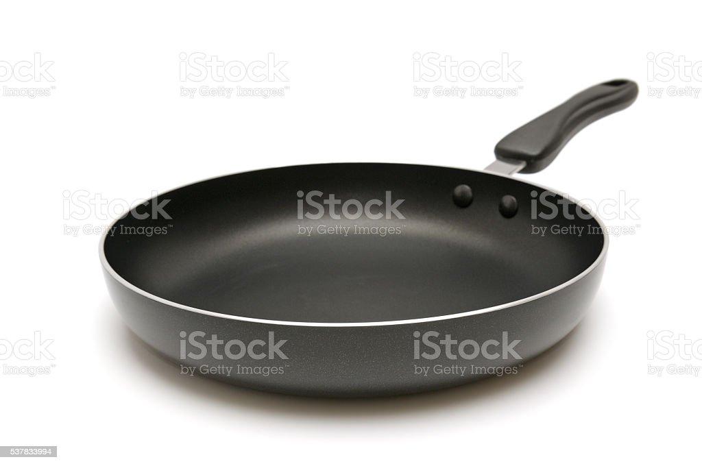 Large frying pan stock photo