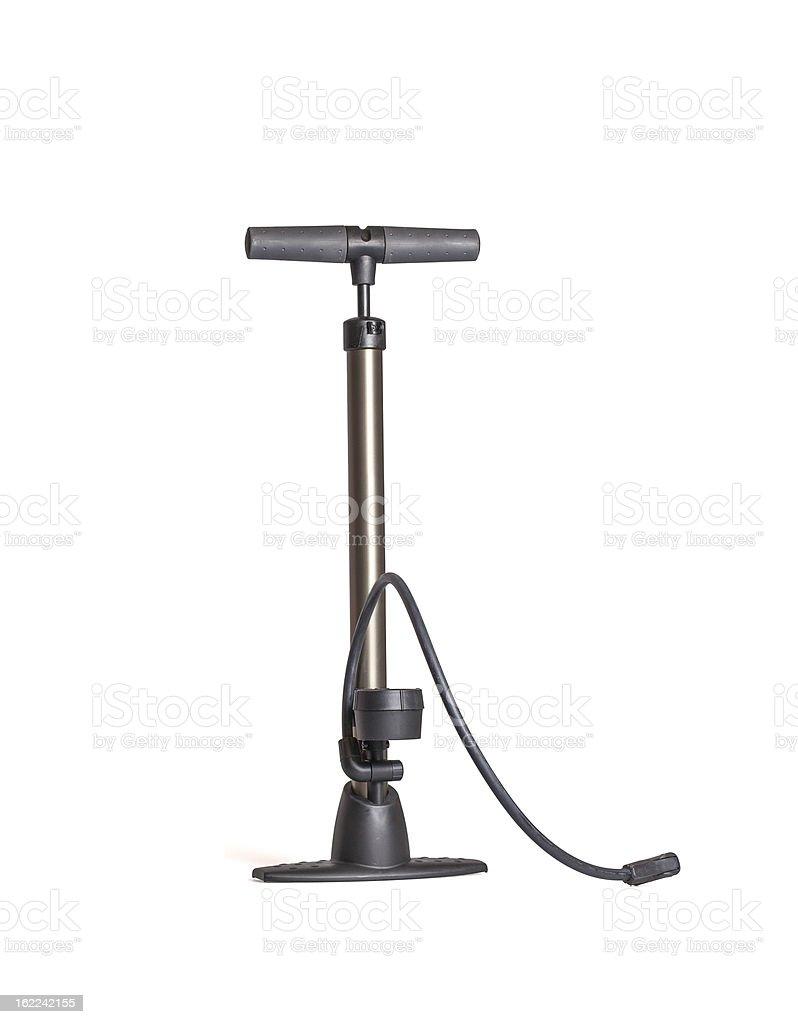 Large hand pump stock photo
