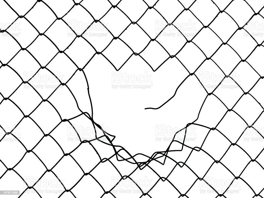 Broken Chain Link Fence Vector brilliant broken chain link fence vector n in design ideas