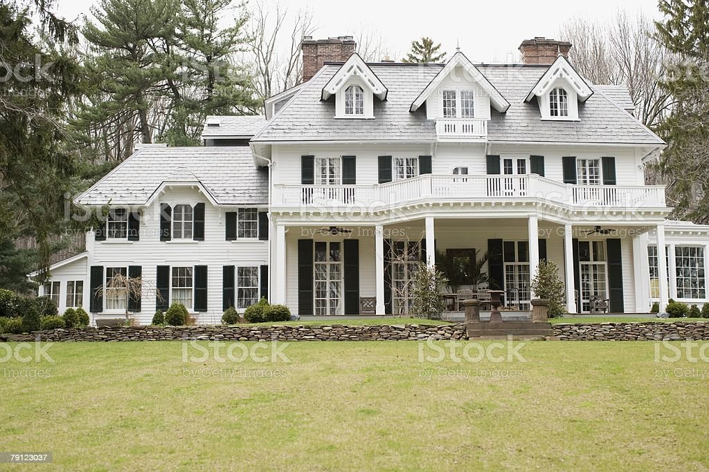Large house royalty-free stock photo