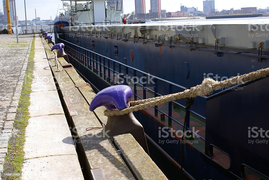 large industrial ship royalty-free stock photo