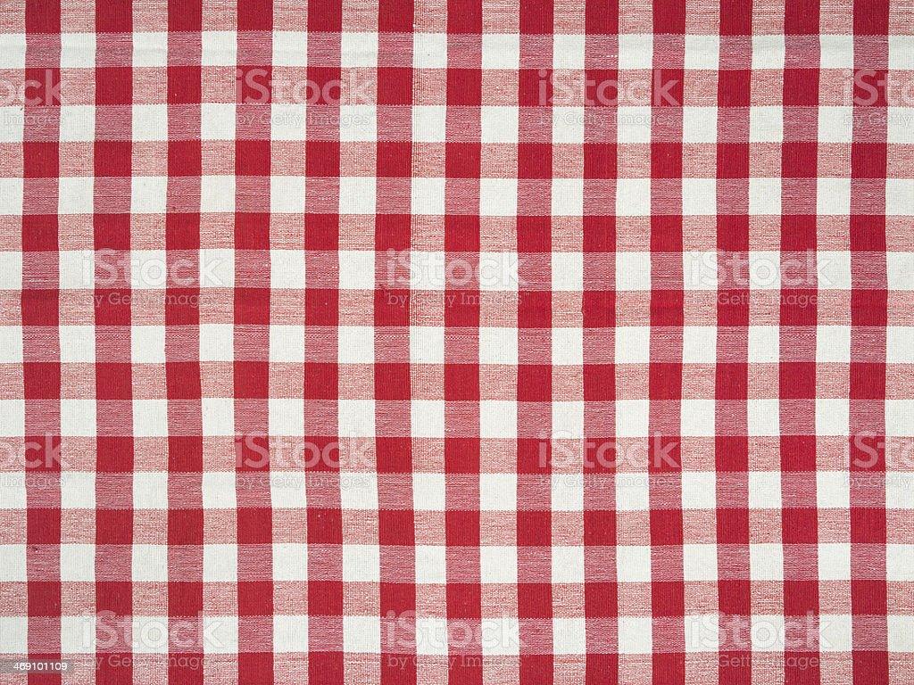 Large Italian tablecloth stock photo