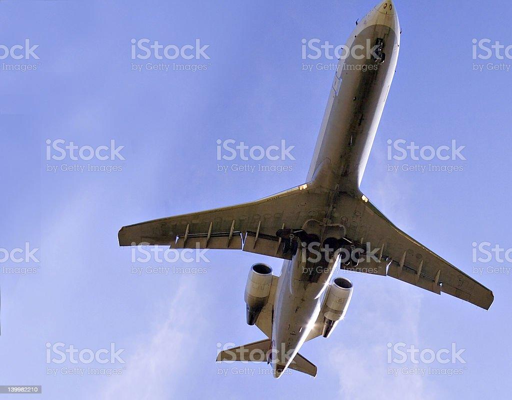 Large Jet Aircraft stock photo