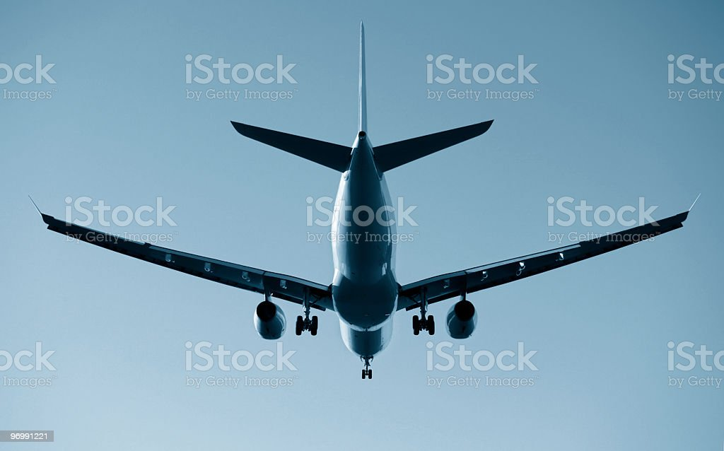 Large Jet stock photo