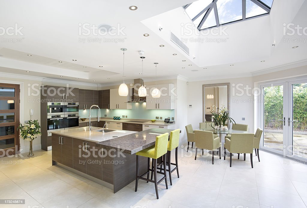 large kitchen and diner royalty-free stock photo