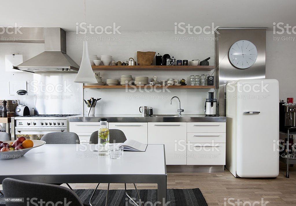Large kitchen stock photo
