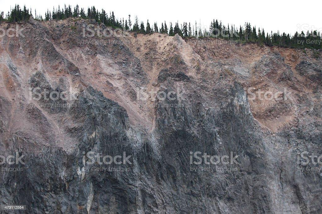 Large Landslide stock photo
