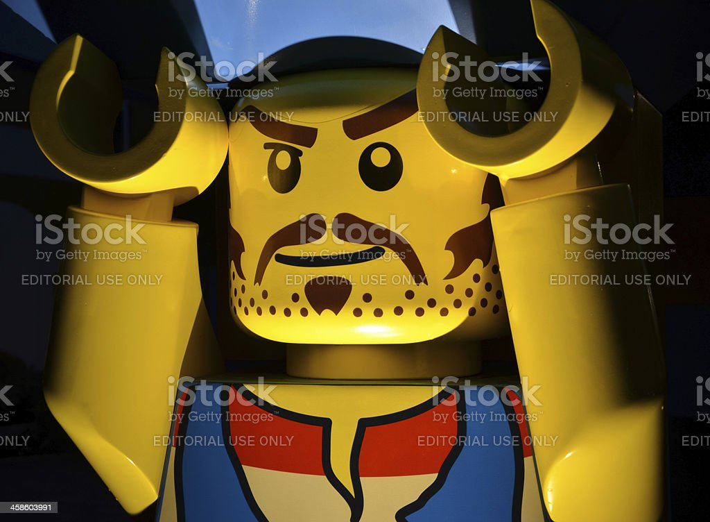 Large Lego Pirate stock photo