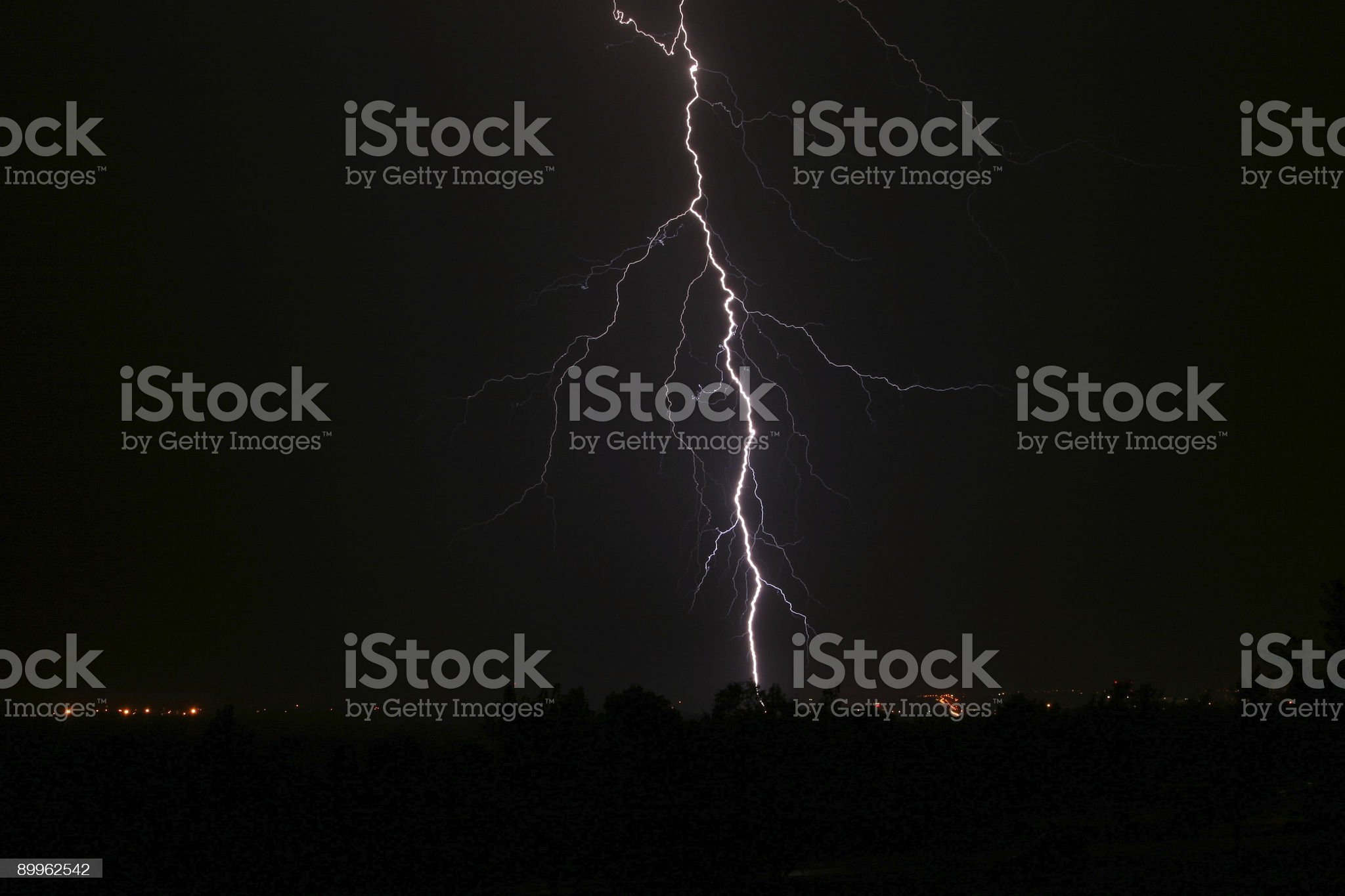 Large Lightening Bolt royalty-free stock photo