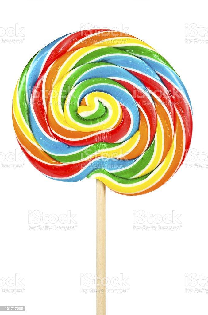 Large lollipop stock photo