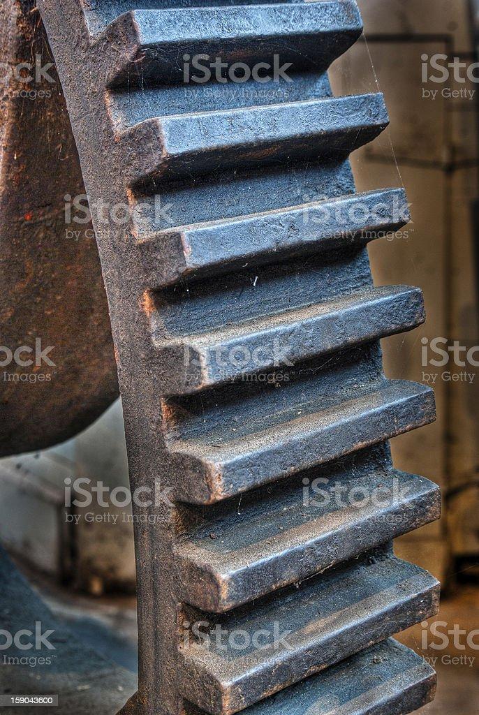 Large Machinery Gear stock photo