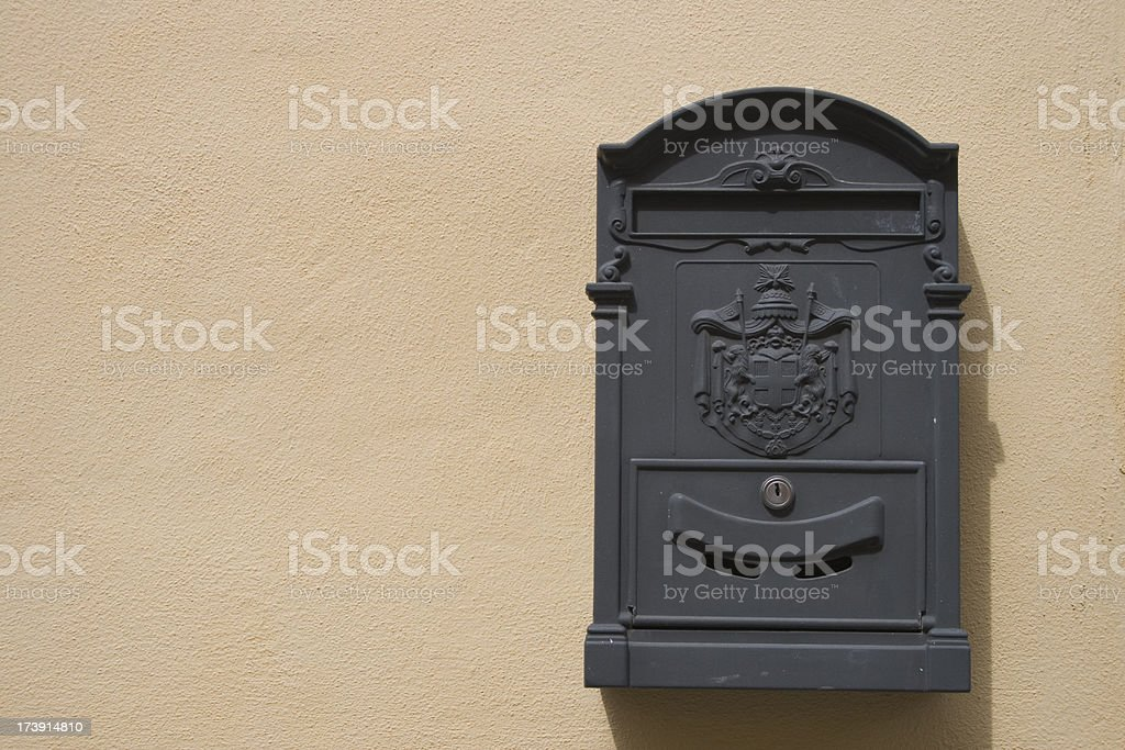 large mailbox stock photo