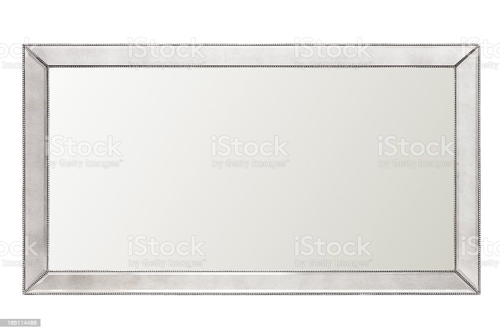 large mirror royalty-free stock photo
