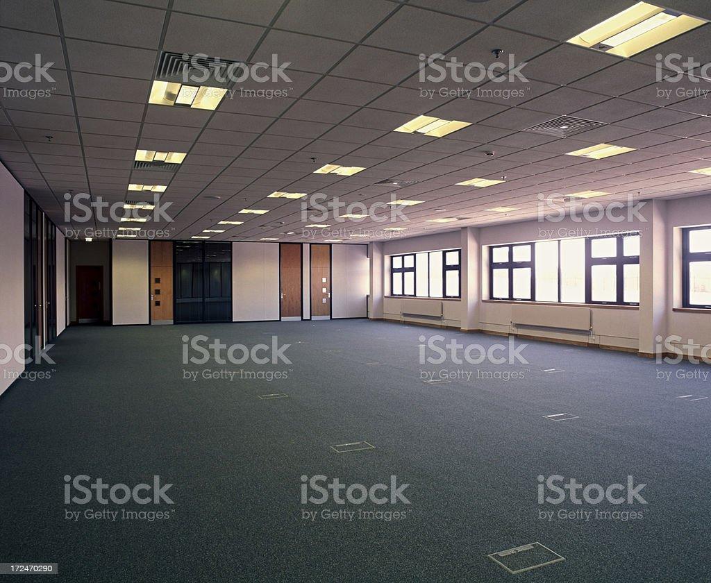 Large modern empty premises royalty-free stock photo