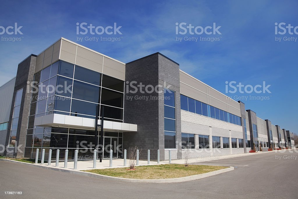 Large Modern Industry royalty-free stock photo