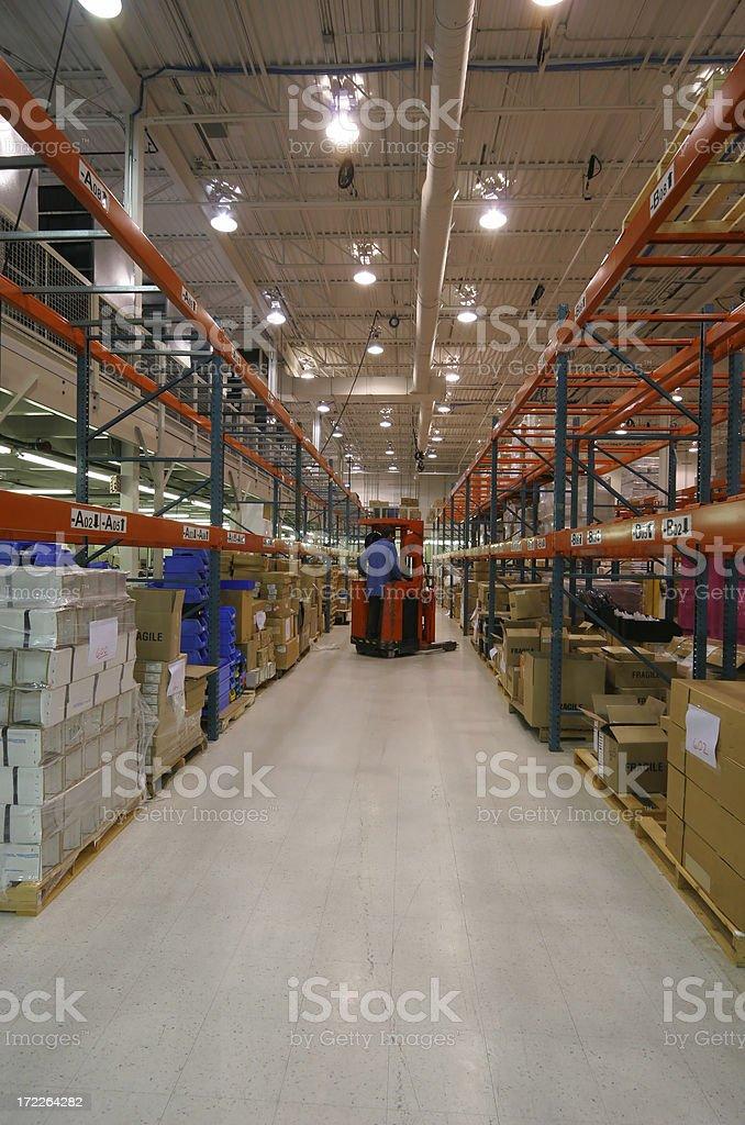 Large Modern Warehouse royalty-free stock photo