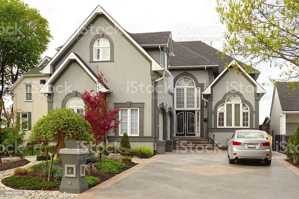 Large New House stock photo