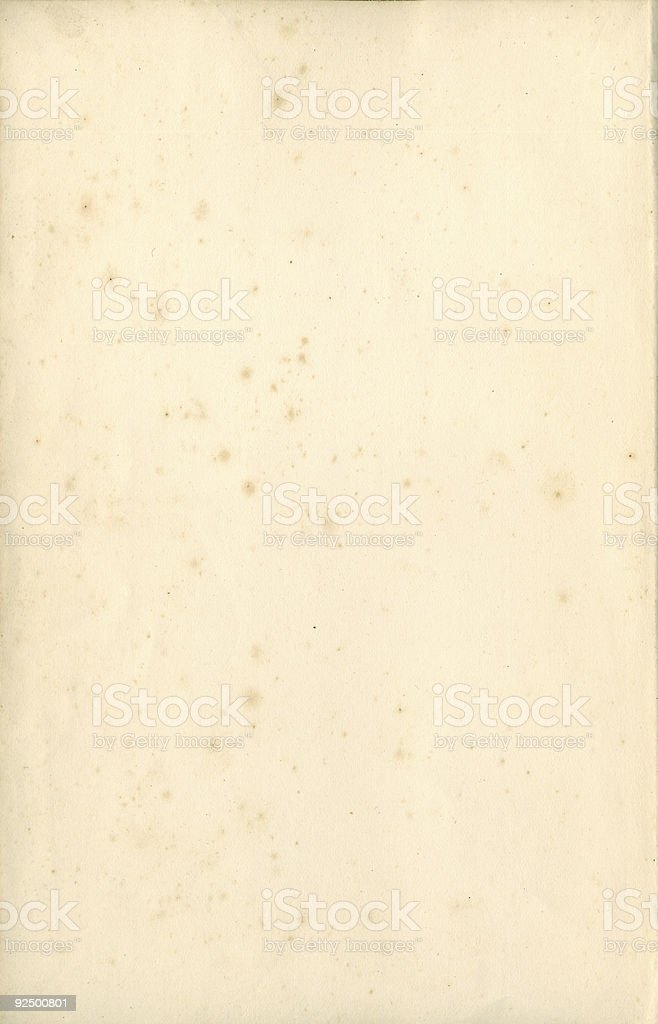 Large old paper (XXL/10) royalty-free stock photo