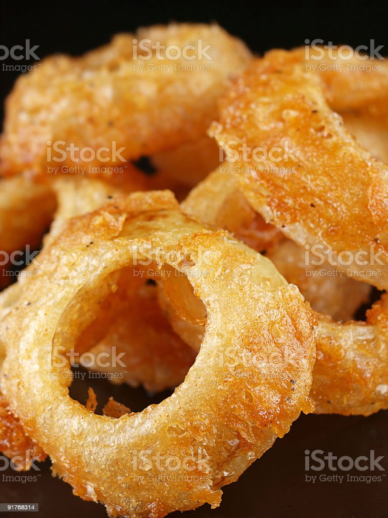 Large Onion Rings stock photo