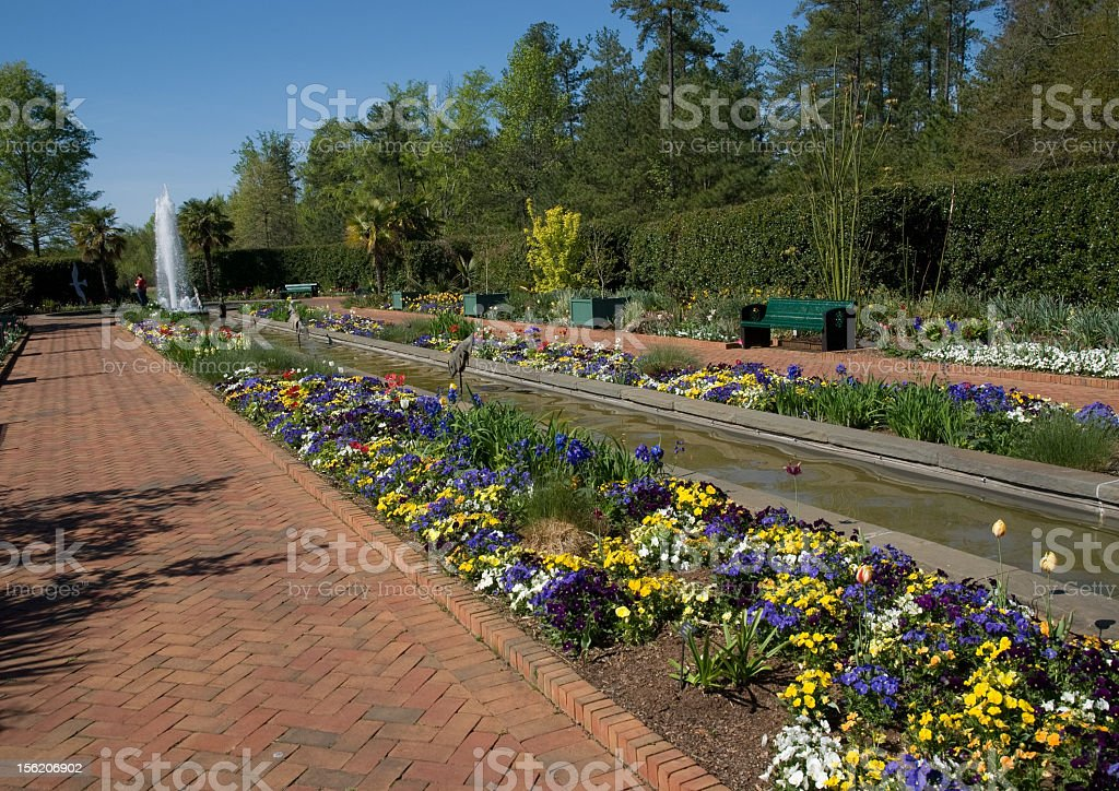 Large Ornamental Garden royalty-free stock photo