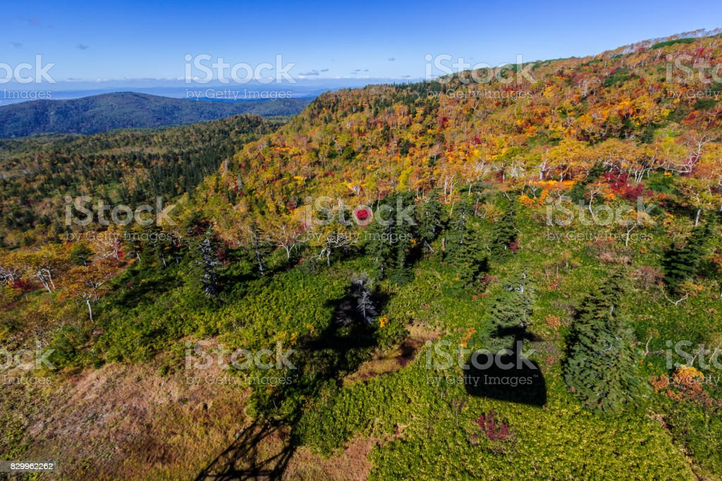 large panorama view stock photo
