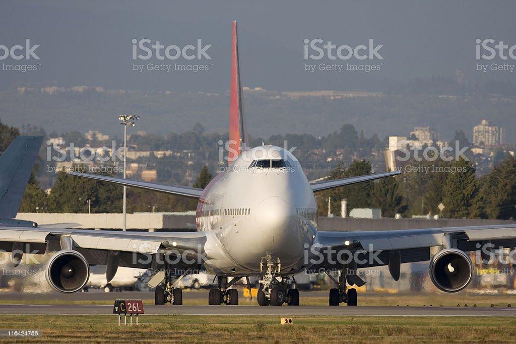 Large Passenger Aircraft royalty-free stock photo
