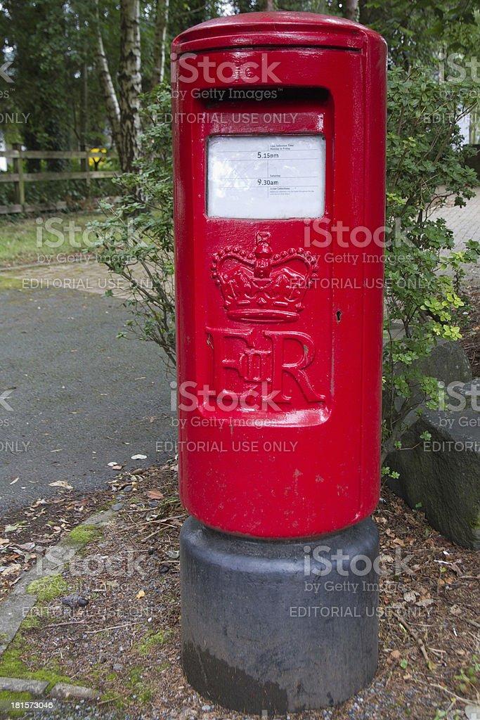 Large post box royalty-free stock photo
