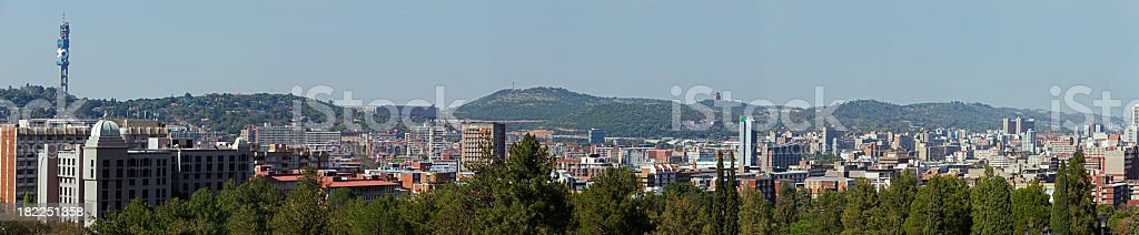 Large Pretoria Panoramic xxxlarge stock photo