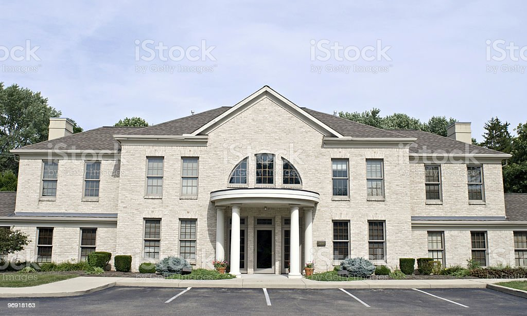 Large Professional Building stock photo