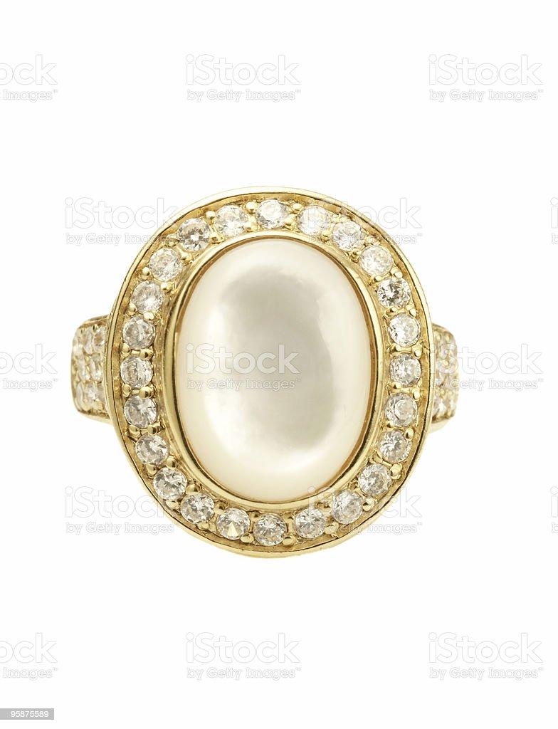 Large Ring royalty-free stock photo