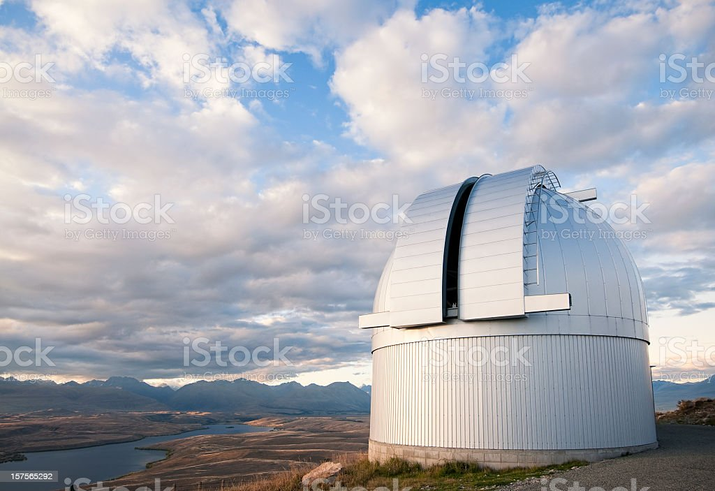 Large Rural Telescope Observatory stock photo