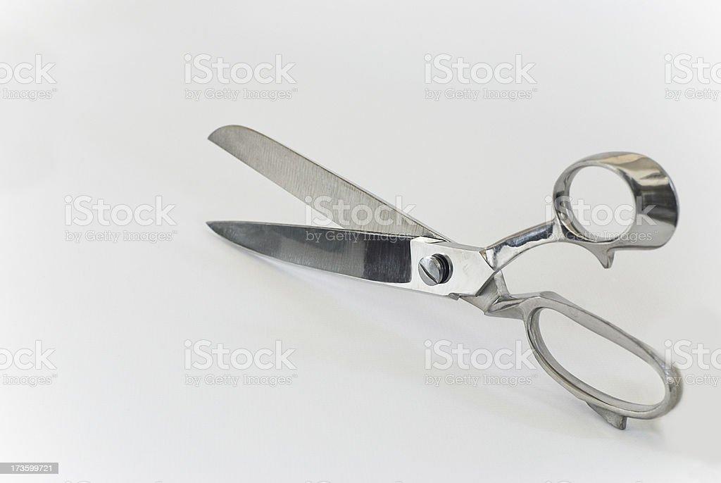 Large Scissors stock photo