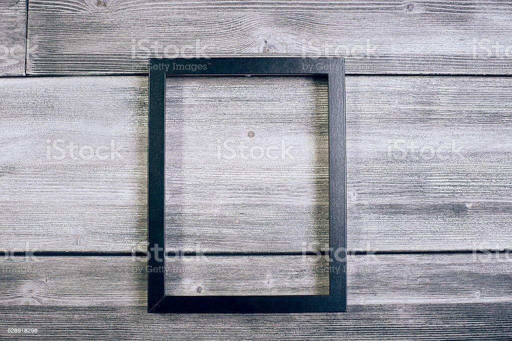 Large see-through frame stock photo