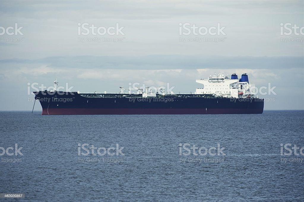 Large Ship on Sea stock photo