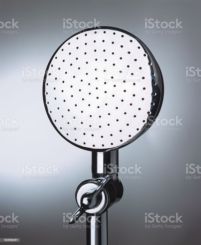 large shower head royalty-free stock photo