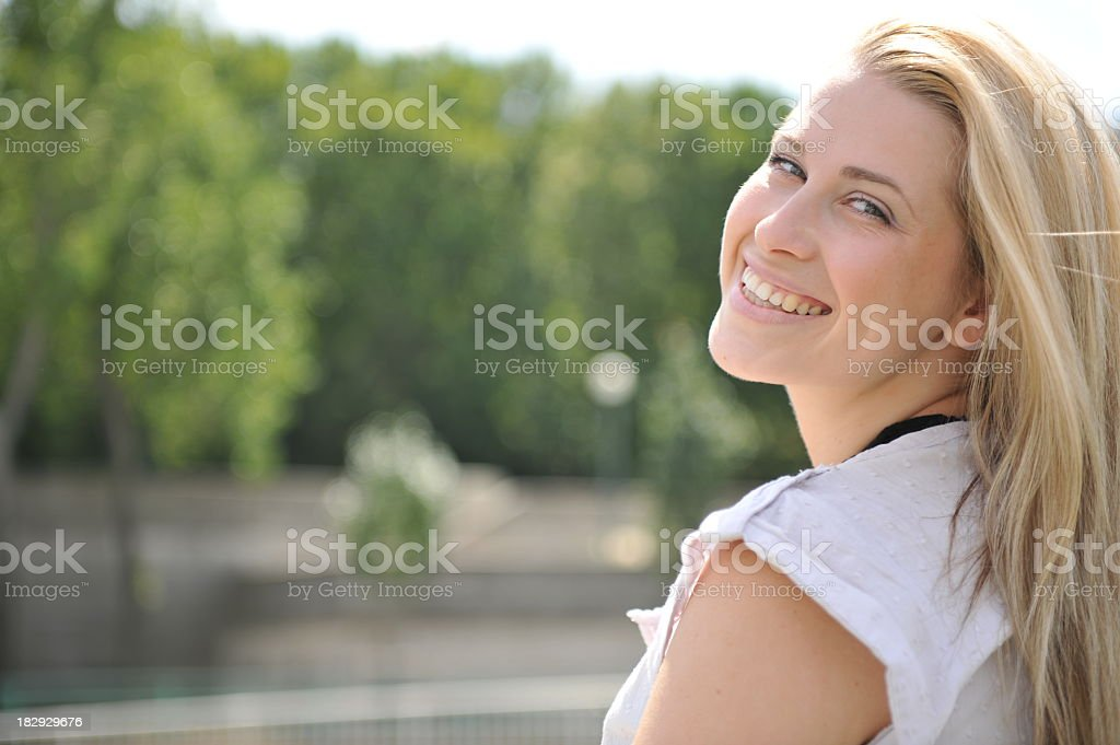 large smile royalty-free stock photo