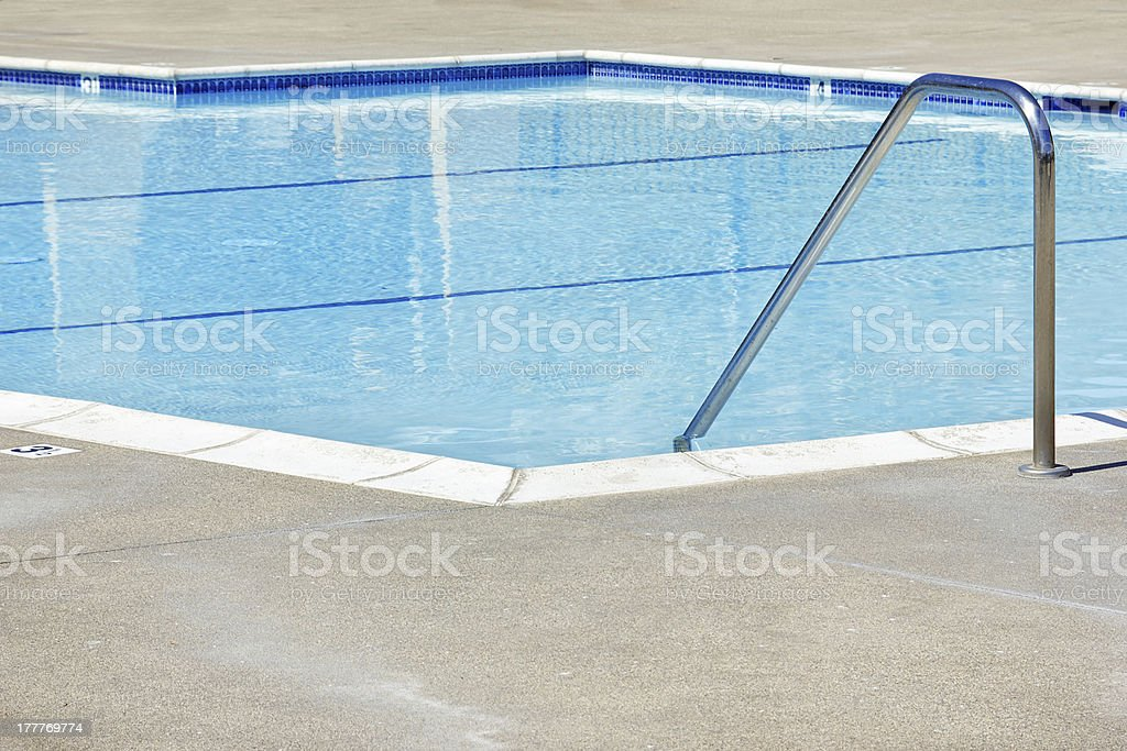 Large Swimming Pool stock photo
